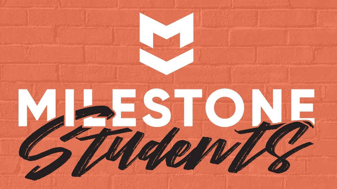 We love students at Milestone! - We encourage teenagers to be actively involved in our weekly worship services, serve in various ministries, and serve during our many community events.