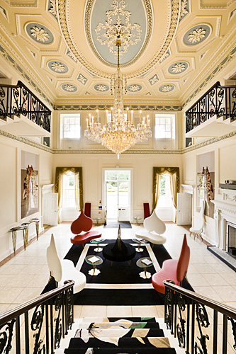 Duddingston House for Homes & Interiors Scotland. ©BRENDAN MACNEILL.