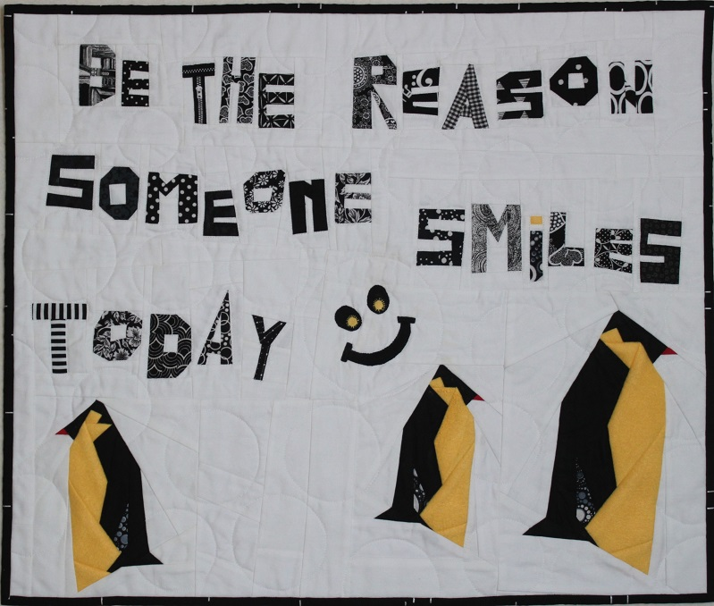 Be the Reason Someone Smiles Today by Diane Paquin Provost