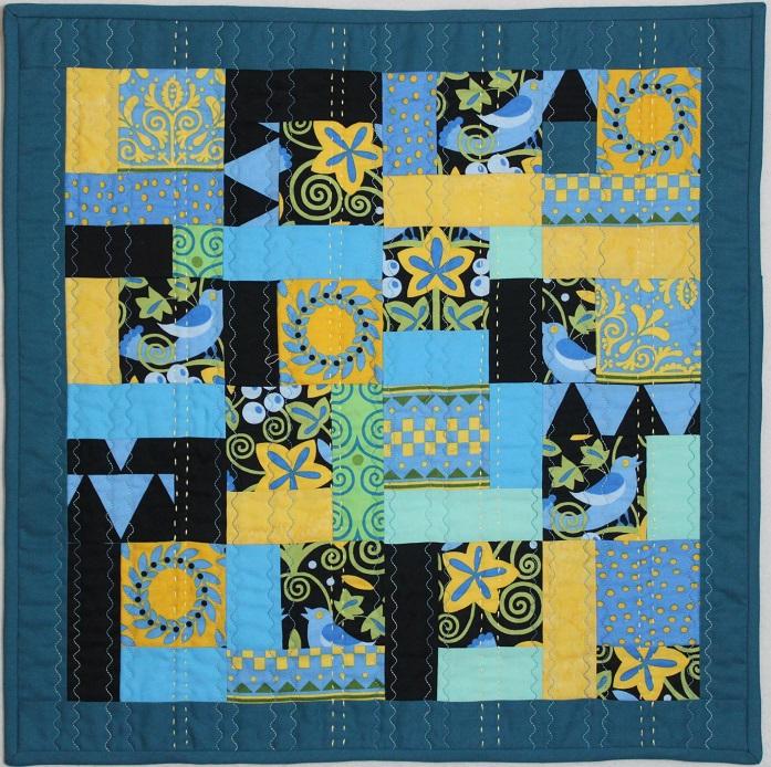 Bird Box Blue by Margie Rohrbach