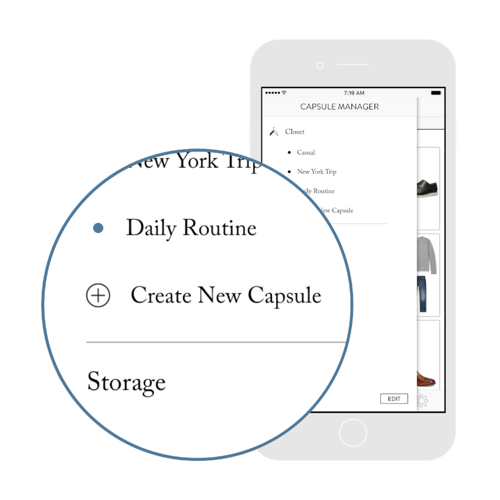2. Add your activities. - Organize your closet by your activity, season, event... Get outfit ideas personalized to your weekly activities.