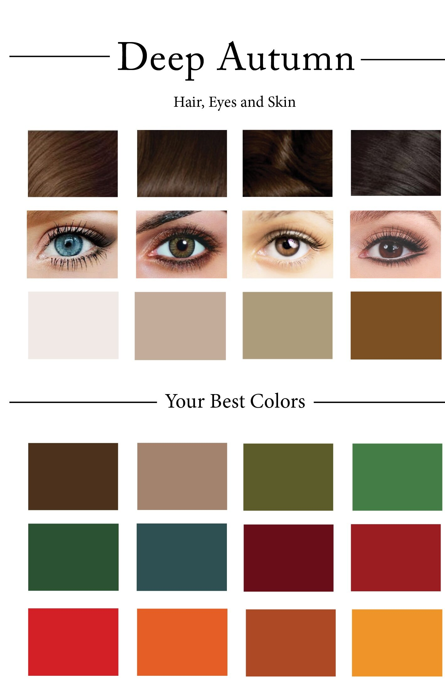 How To Create Your Personal Color Palette Plus Take Our Color Quiz Cladwell,Cheapest City To Buy A House In Georgia
