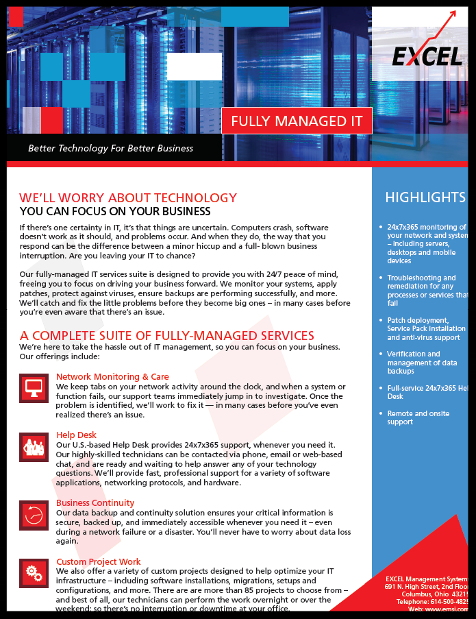 Fully-Managed Information Technology