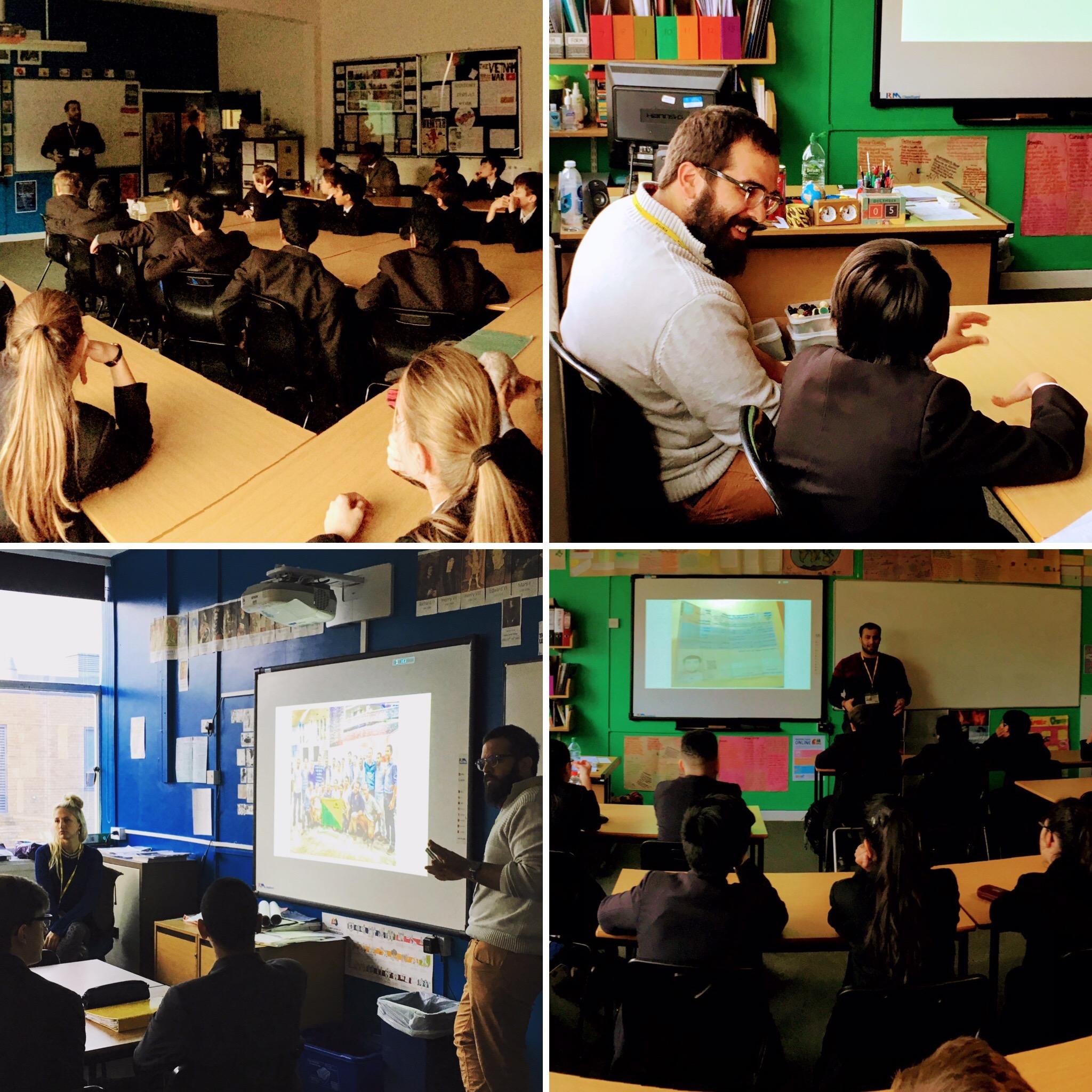 Meron & Dawoud at King Edward VI School Five Ways