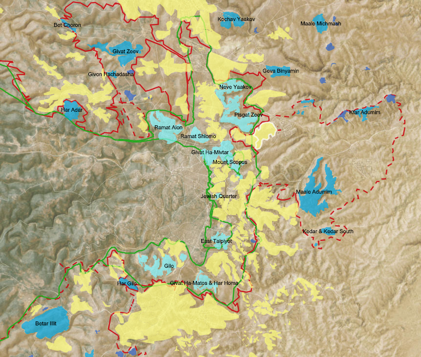 Settlements and Solutions map