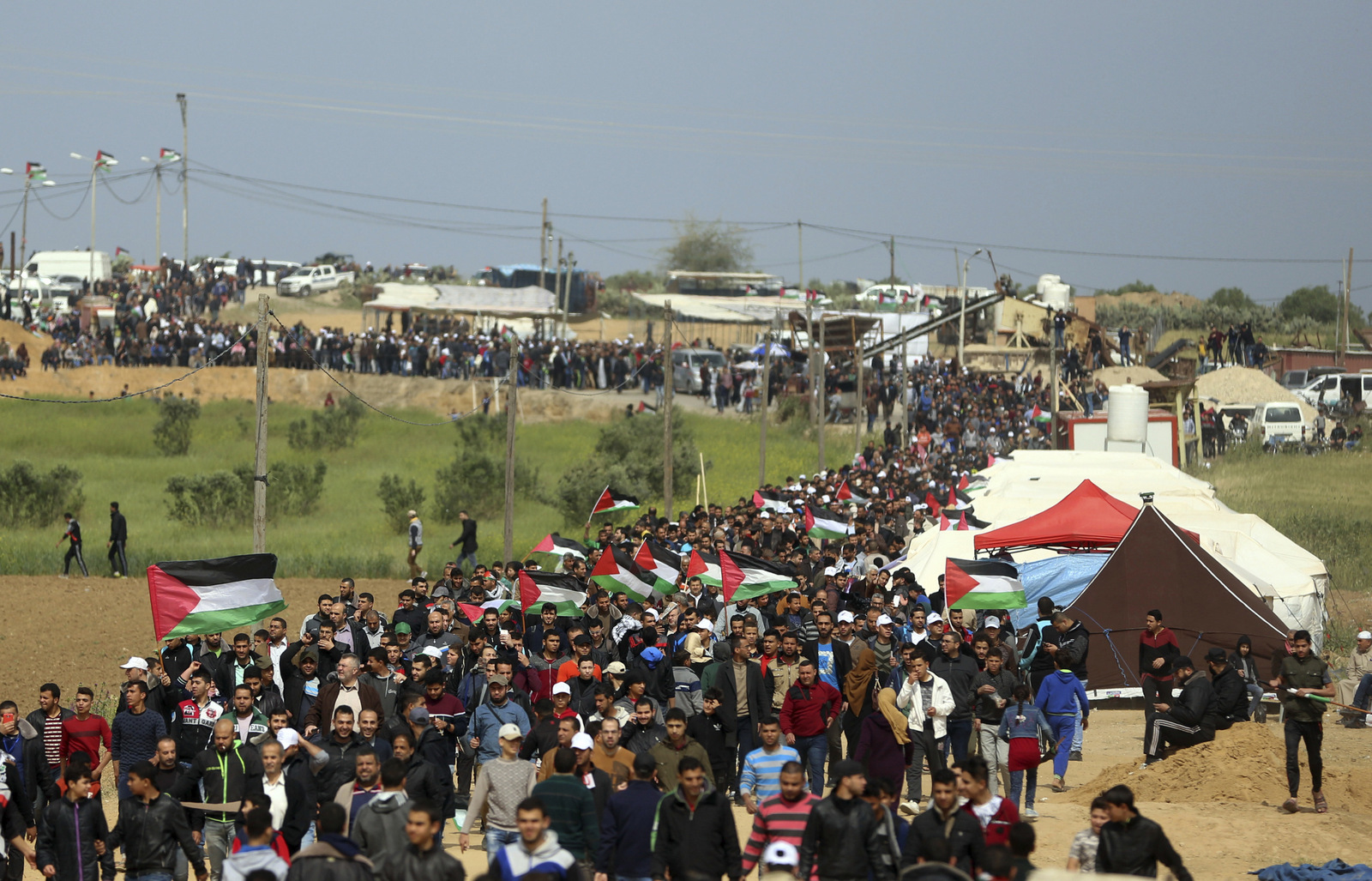 Great Return March in Gaza - Seeking out progressive voices