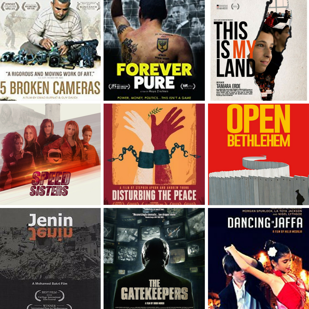 Films and Documentaries about the Israel-Palestine Conflict