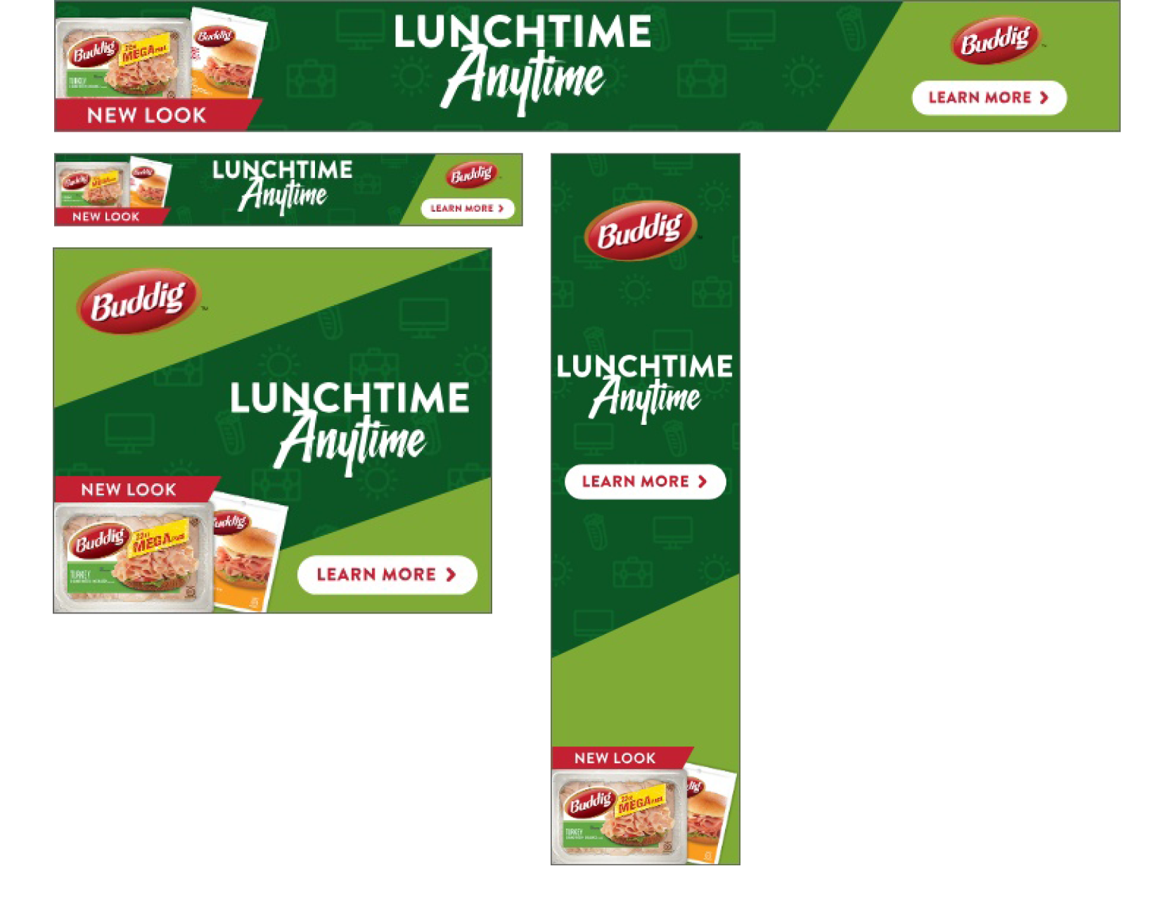 Daytime A banners - 728x90, 320x50, 300x250, 160x600