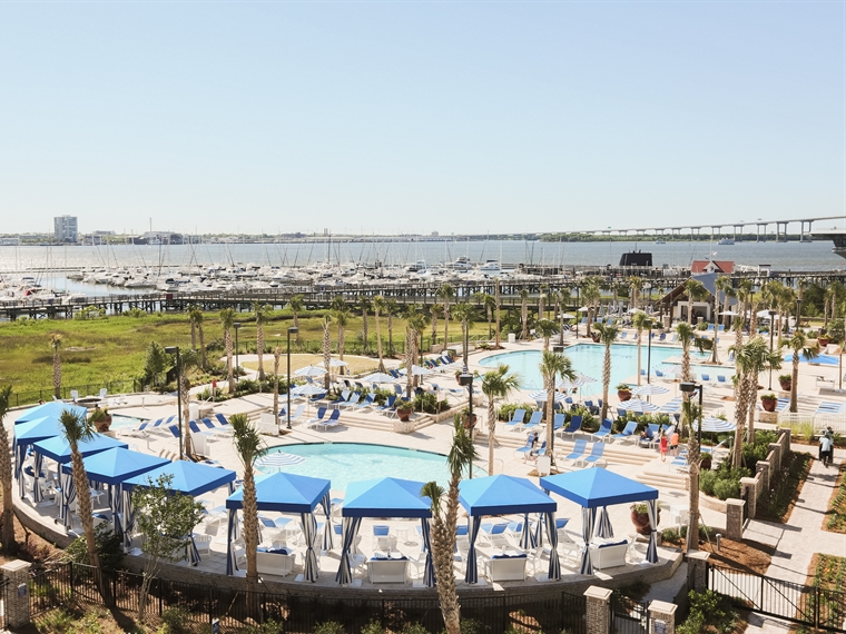"Charleston Harbor Resort & Marina - Book online: http://charlestonharborresort.com/Or call 843-856-0028 and reference booking code ""HSCONCENTRIC""Concentric guest special rate for Harborside building: $89/night plus fees (off season*) Sunday-Thursday, $149/night plus fees (peak season) Sunday-Thursday & 20% off weekend regular rate. Beach Club build rates also available.*Off season is Jan 1-Mar 14 and Nov 15-Dec 31"