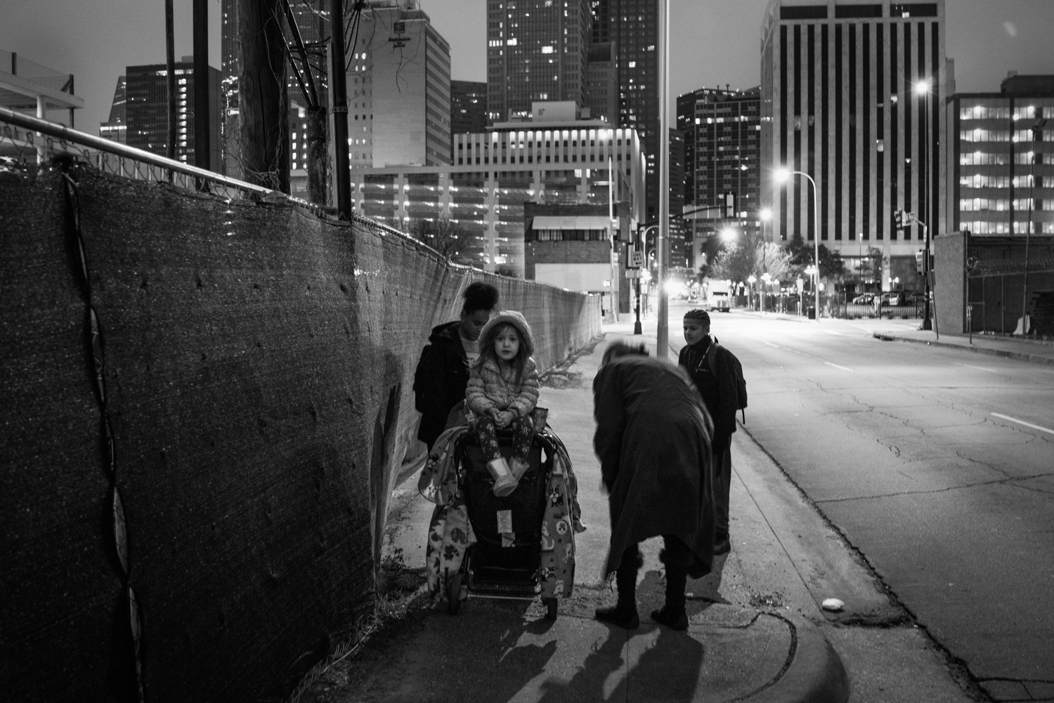 An ongoing project documenting children in Dallas, U.S.A. who are currently homeless and also either attending or attempting to attend school. Covers families living in vehicles, emergency shelters, or on the streets.