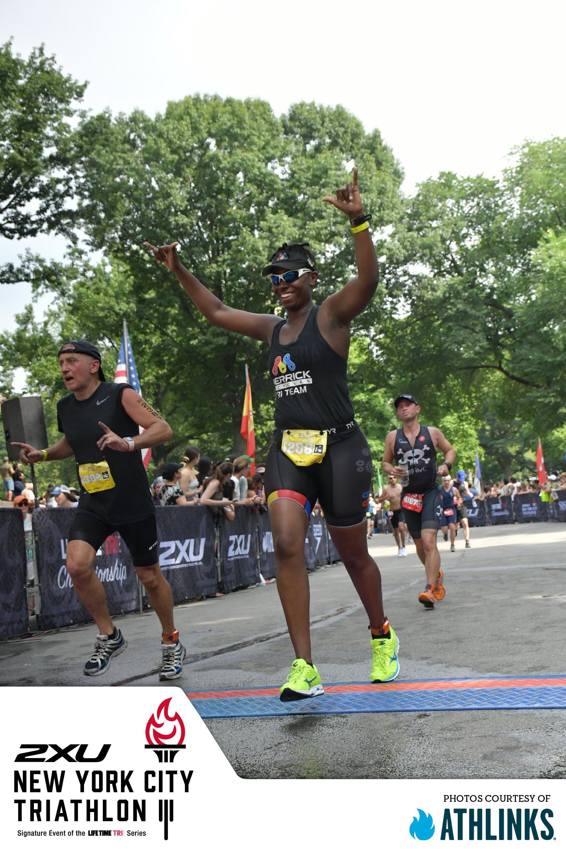 Brooke Washington - 2018 NYC Triathlon Finisher