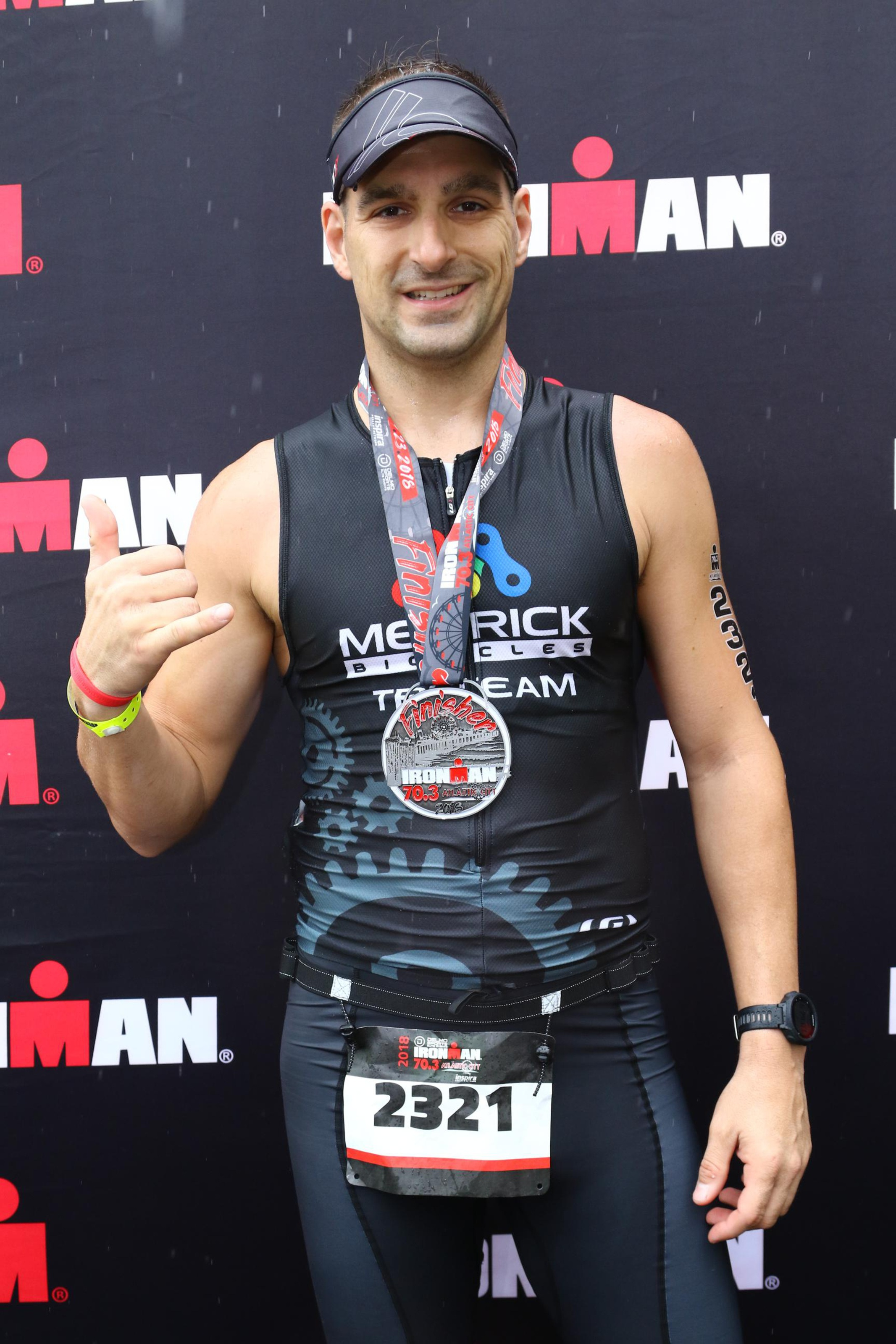 Ken Tymecki - 2018 Ironman Maine 70.3 Finisher