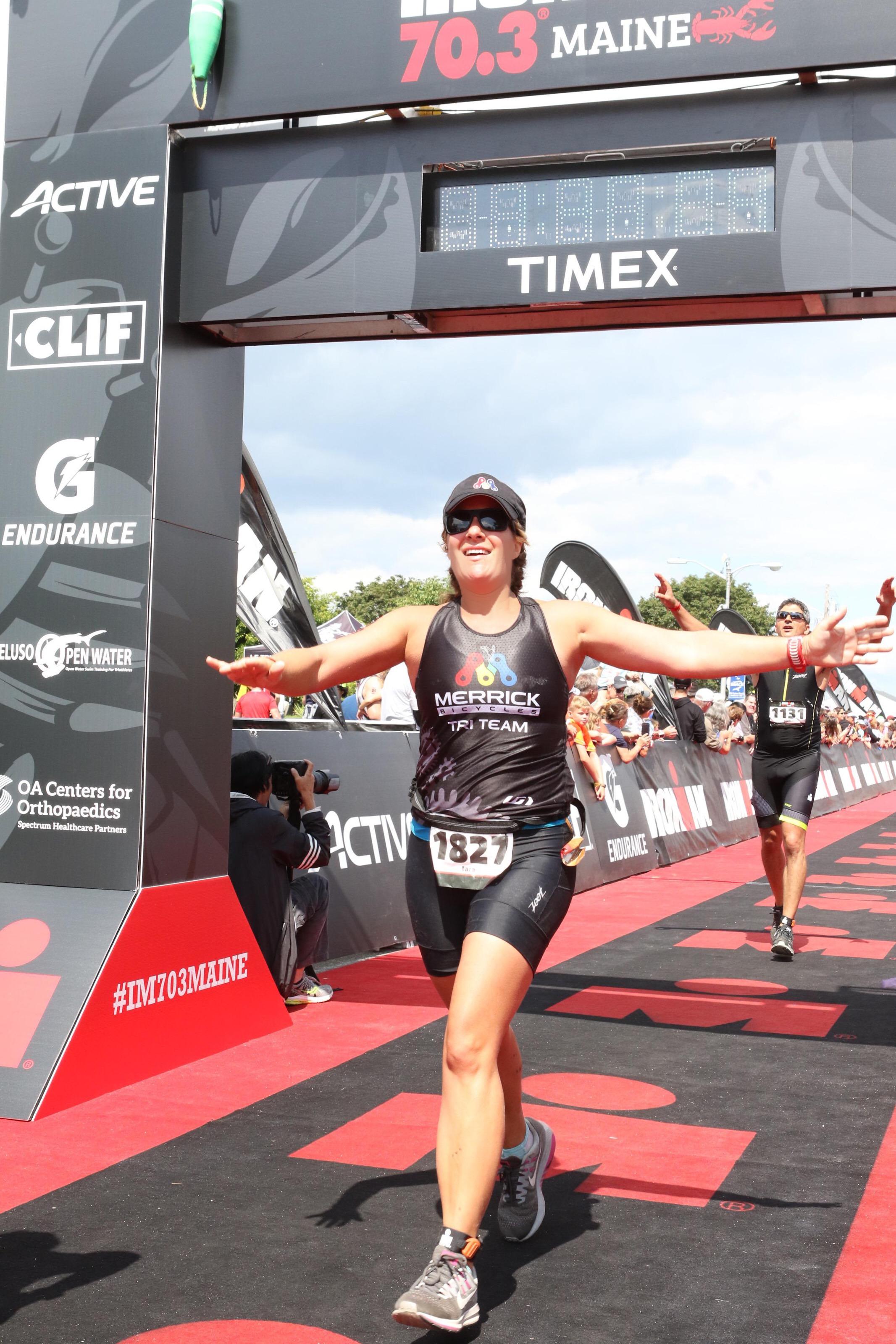 Tara Hofmayer - 2018 Ironman Maine 70.3 Finisher