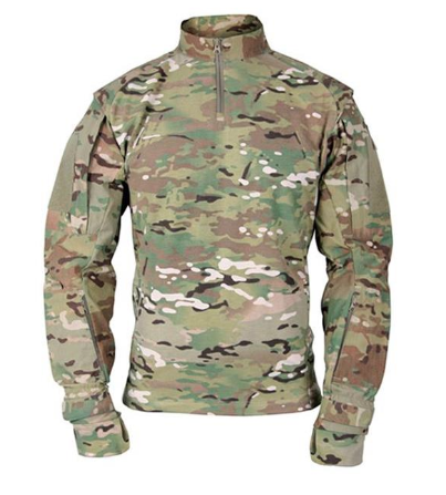 Quarter Zip in Multicam