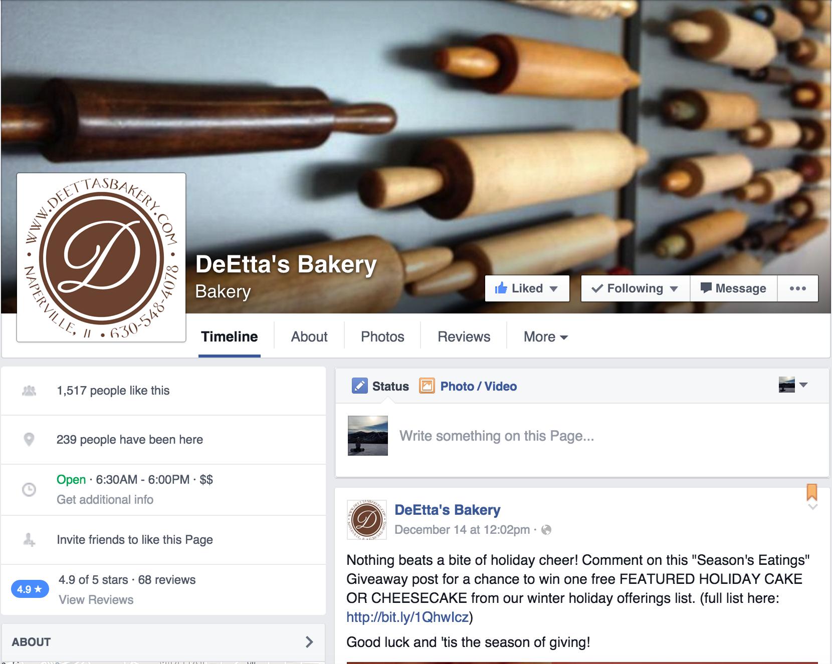 DeEtta's Facebook
