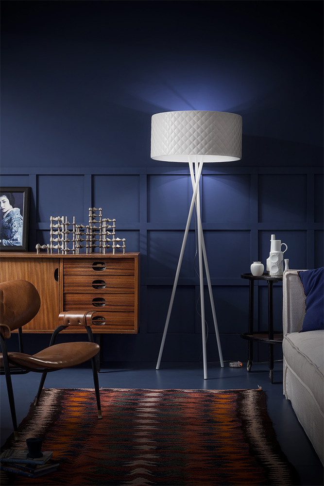 FLOOR:  Light up those dark corners with style