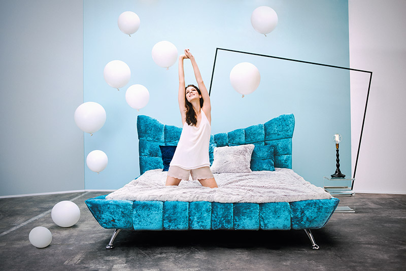 BEDS:  Comfortable & luxurious every time
