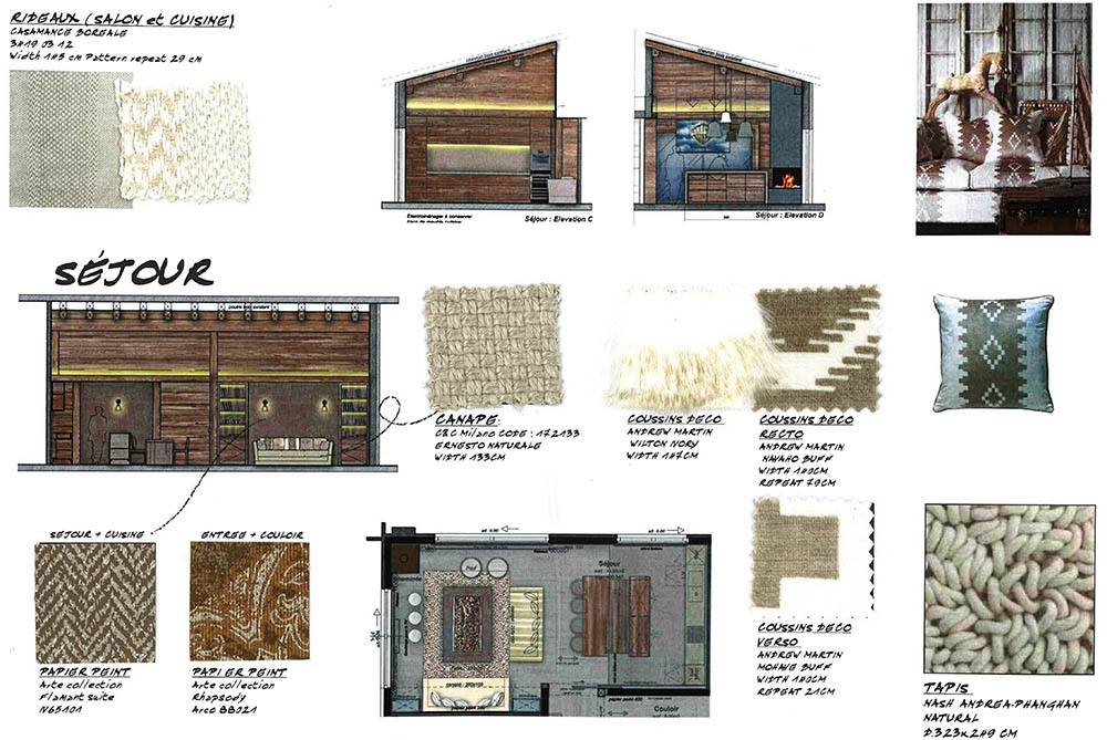 6. DECORATION CONCEPT - •Complete project and descriptive sheet of items