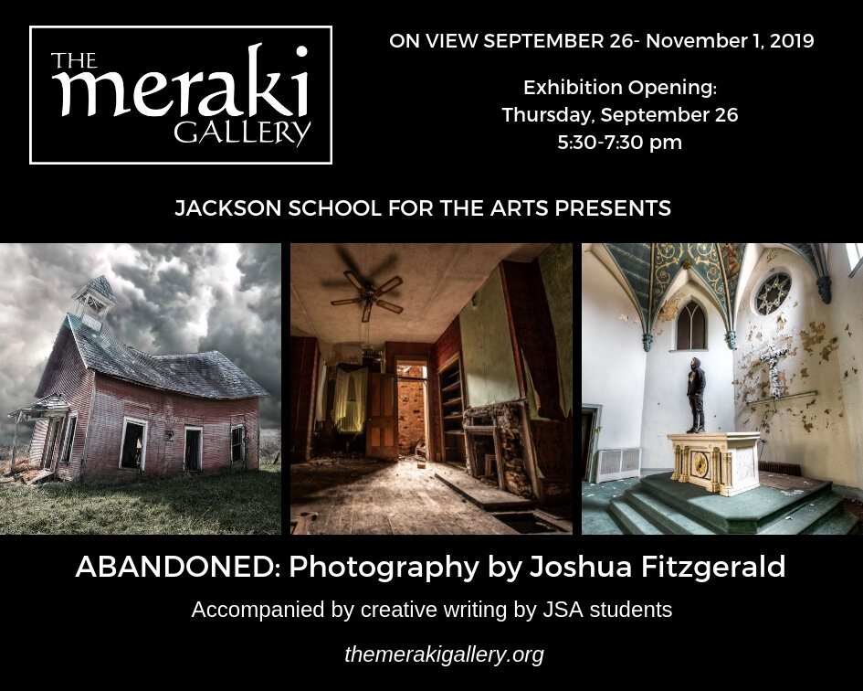 Joshua attended the New York Institute of Photography. He specializes in automotive, event, and landscape photography. On exhibit, September 26 through November 1, 2019.