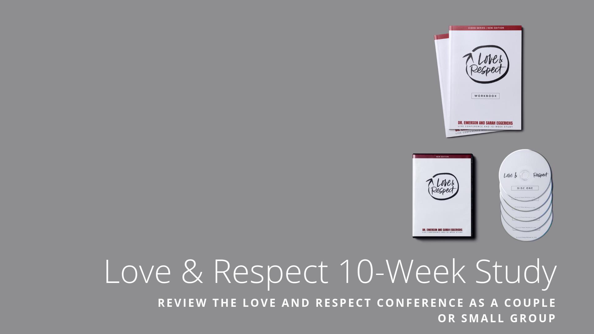 Conference 10 Week Study Slide -