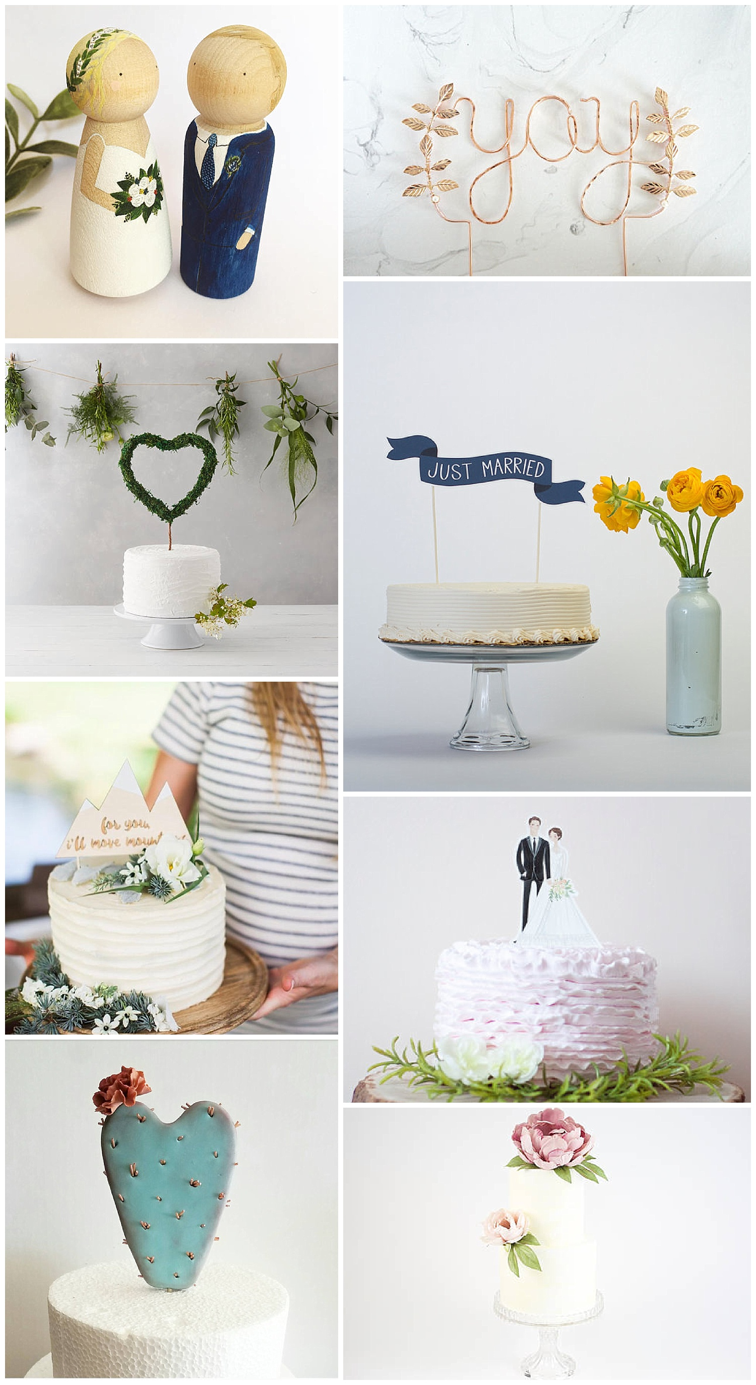 Phoenix Arizona Wedding Planner Wild One Events Etsy Wedding Cake Topper Round Up