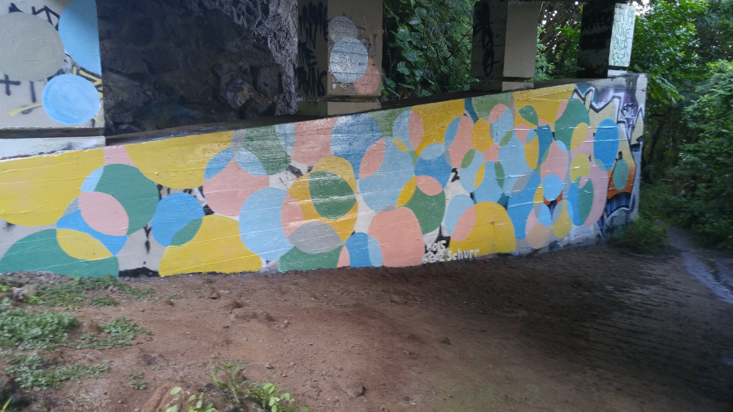 Mural Under the Pali