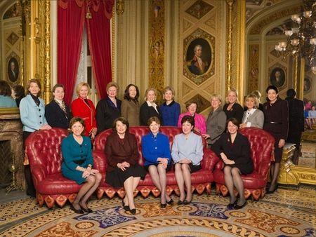 17 Senate Women