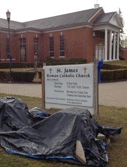 St. James Main Entrance