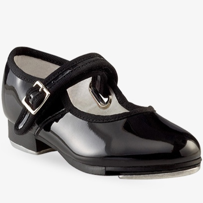 Patent Tap Shoes - Ballet/Tap Combo