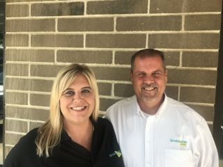 Renee Acker, Vice President and Keith Acker, President