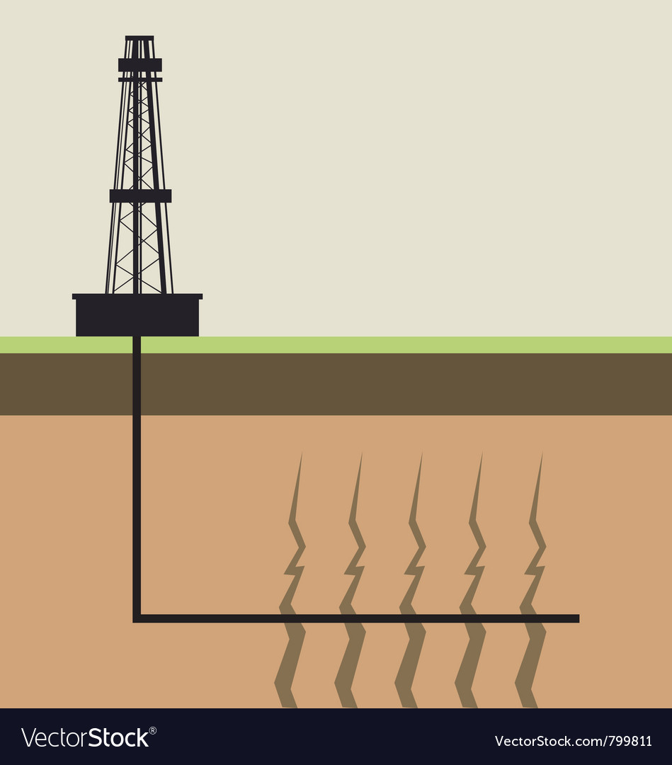 How fracking works.