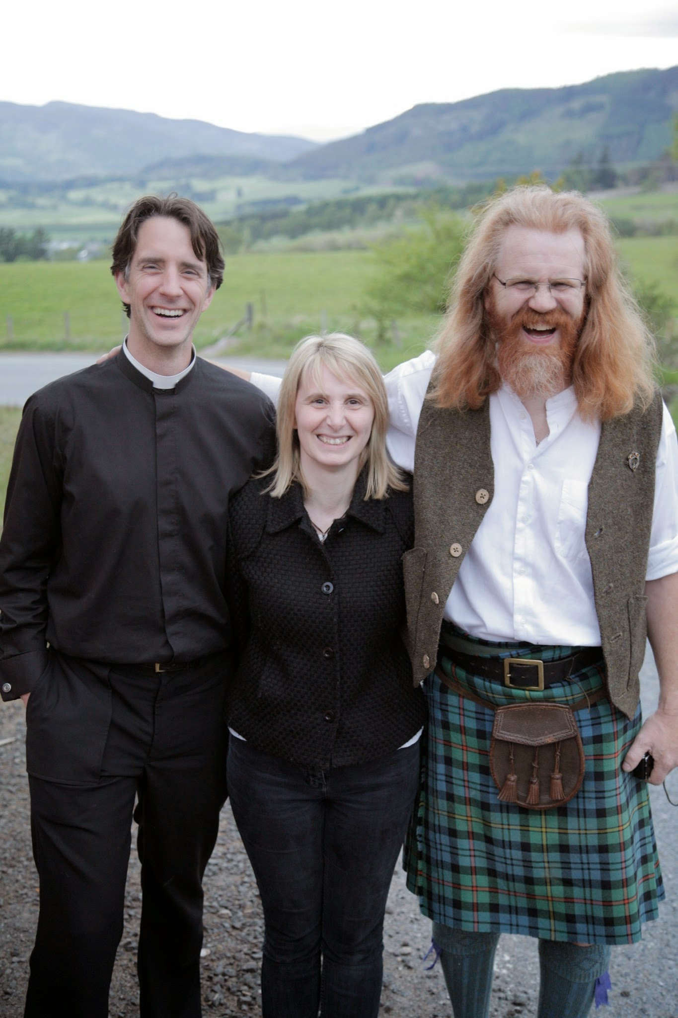 Matt with Alan & Denise Torrance