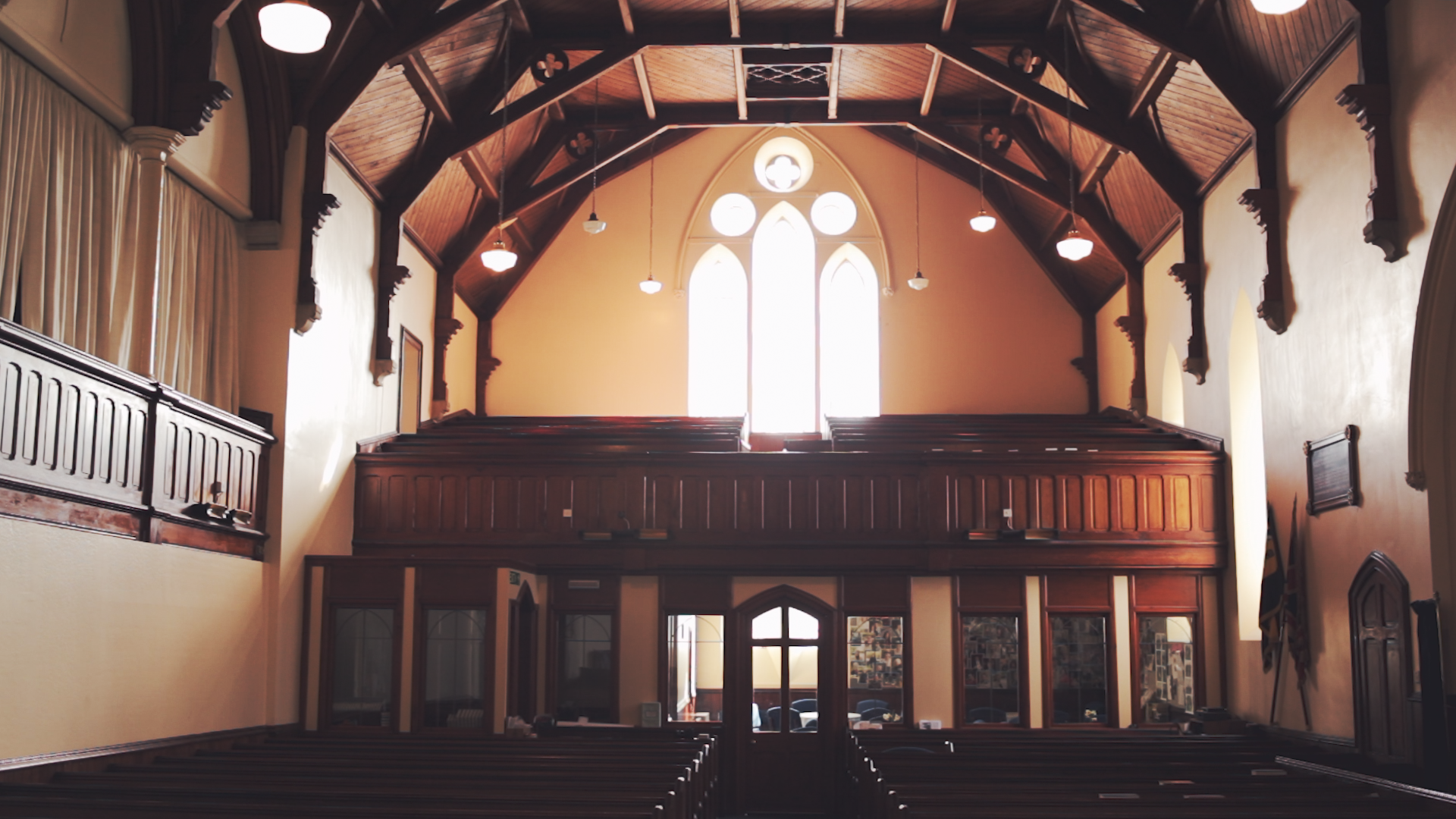 In your sermon or with staff -