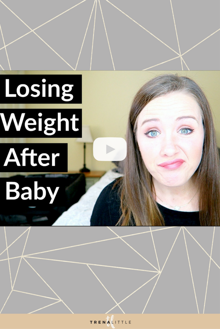 losing weight after having a baby