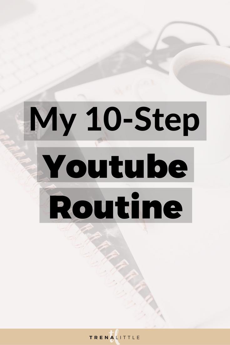 youtube routine
