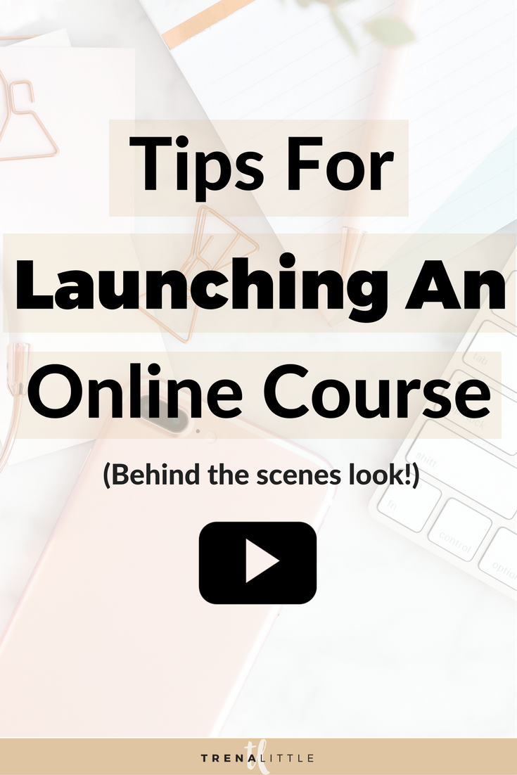 tips for launching an online course
