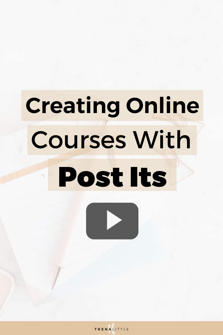how to create an online course outline