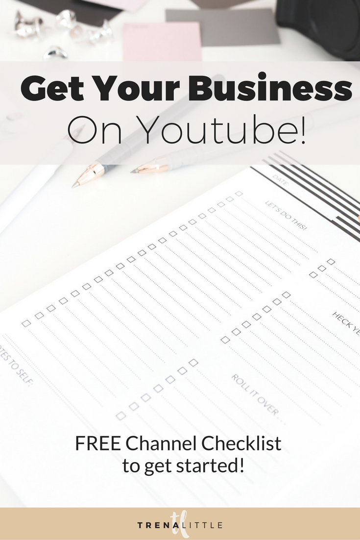 youtube newbie checklist
