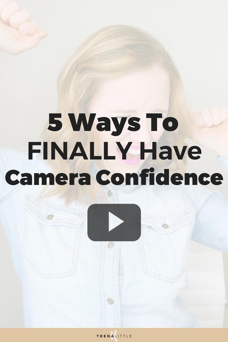 feel comfortable on camera