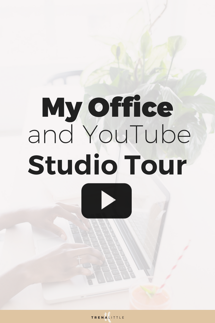office and YouTube studio tour