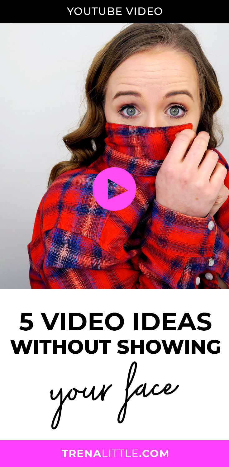 5 Video Ideas Without Showing Your Face