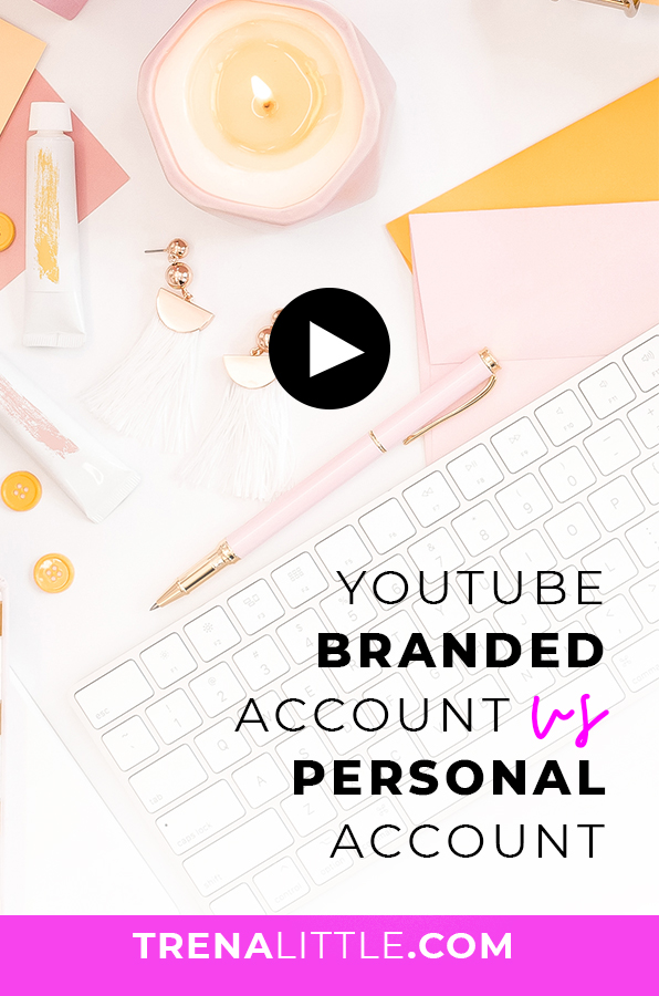 create a youtube brand account without deleting your channel