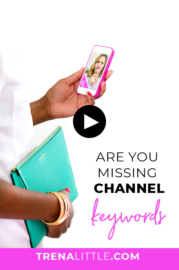 are you missing channel keywords?