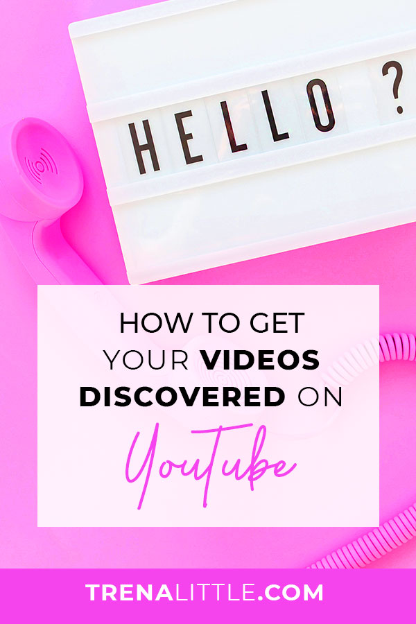 5 Things You Can Do To Get Discovered On YouTube in 2018