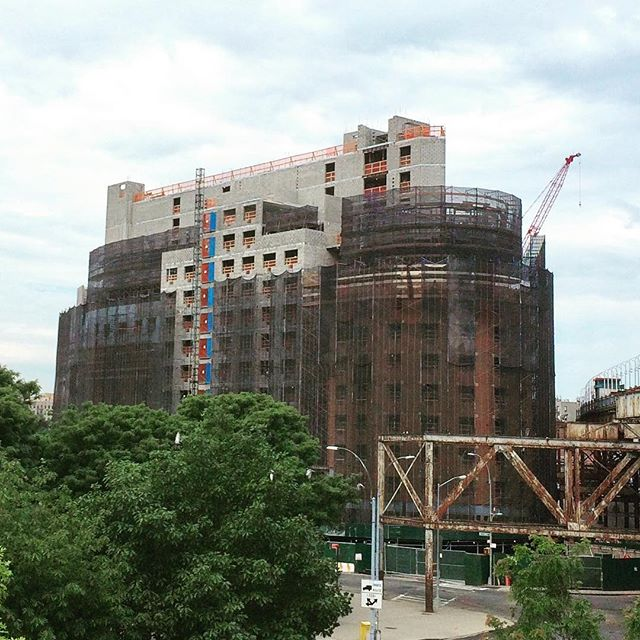 Progress- topping off #affordablehousingnyc #affordablehousing #bronx #multifamilyresidential