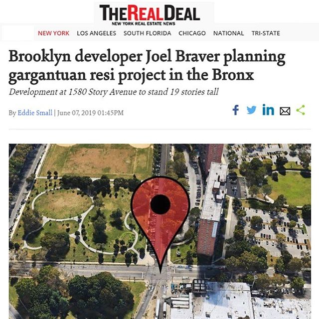 Article link in Bio #therealdeal #multifamilyresidential #bronx #1580storyave