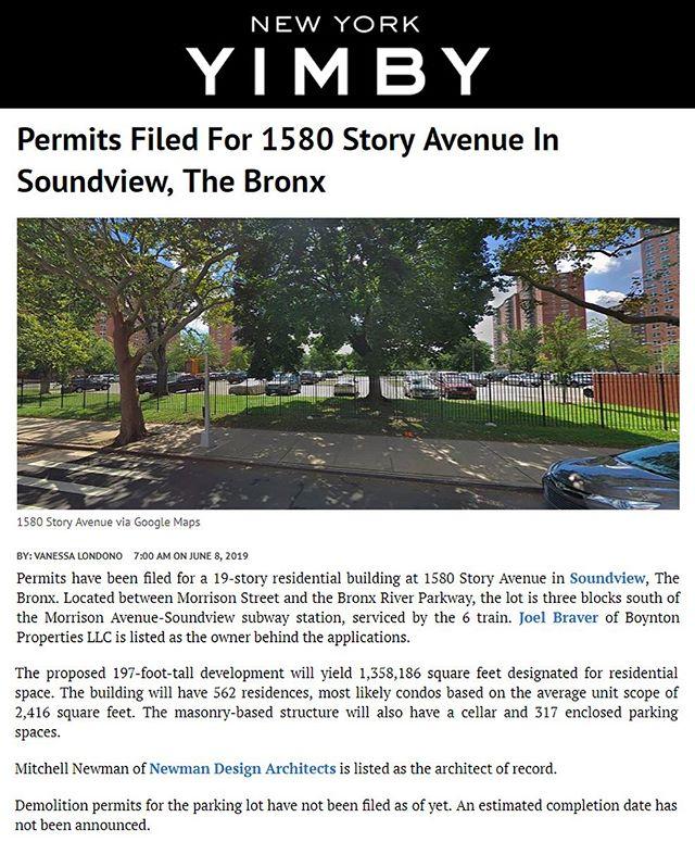 #multifamilyhousing #1580storyave #bronx #yimby