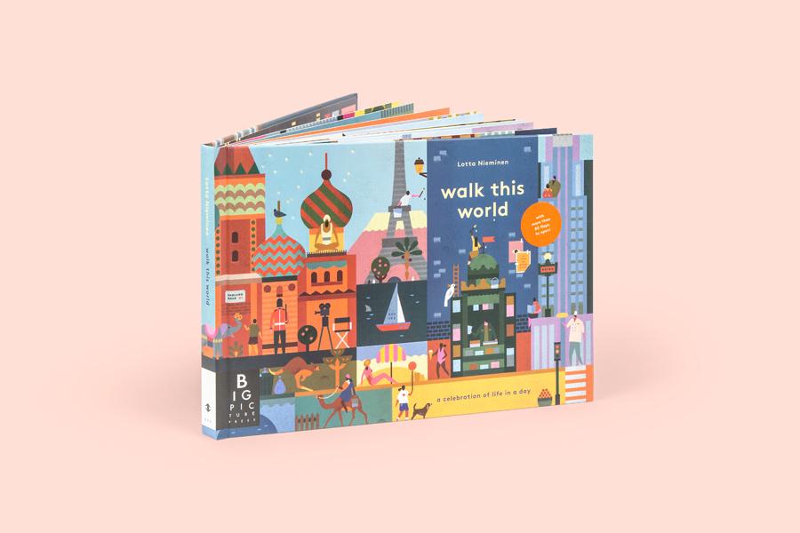 Lotta Nieminen | Walk this World Illustrations