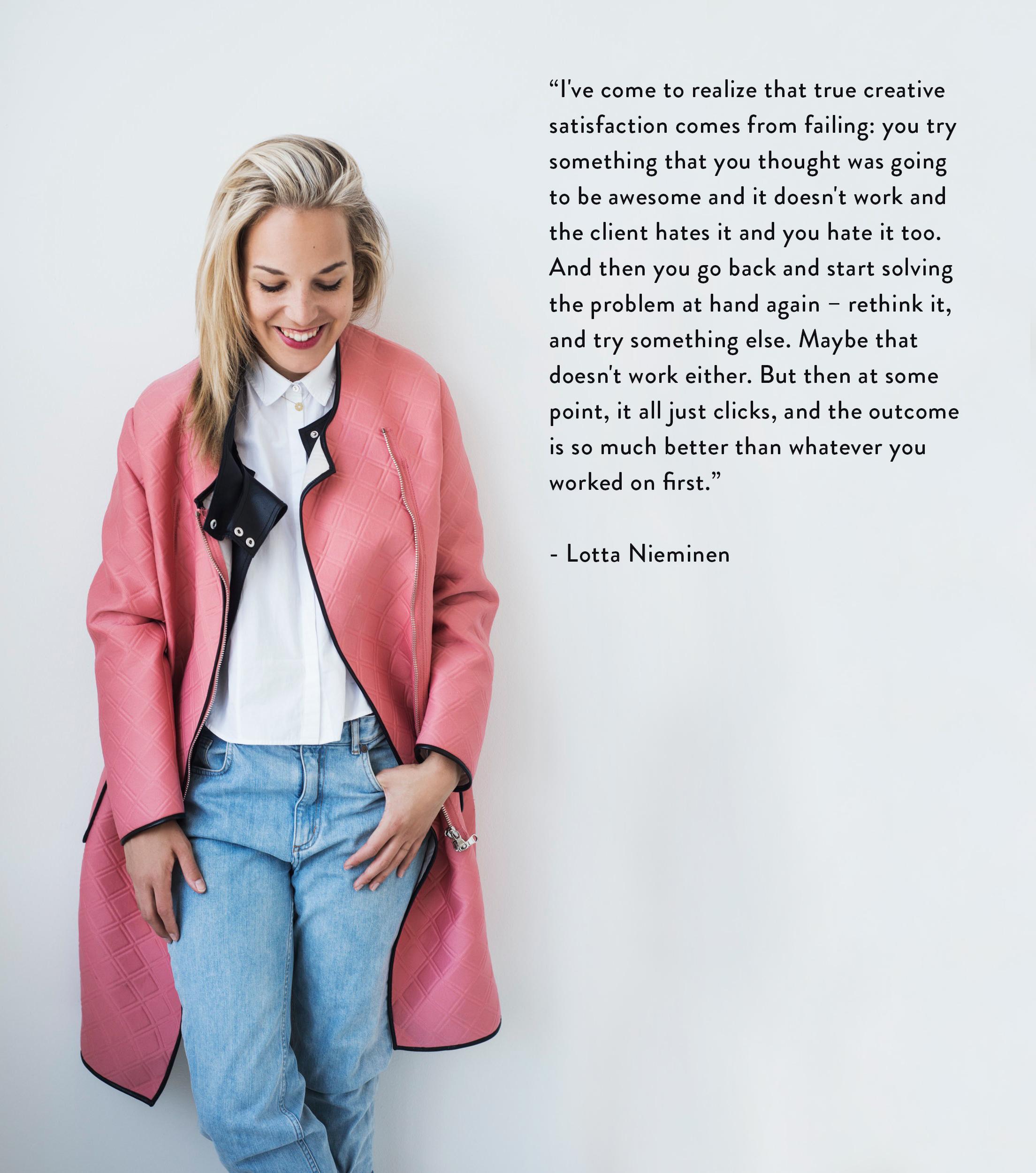 Image credit: for Gloria magazine by Elina Simonen