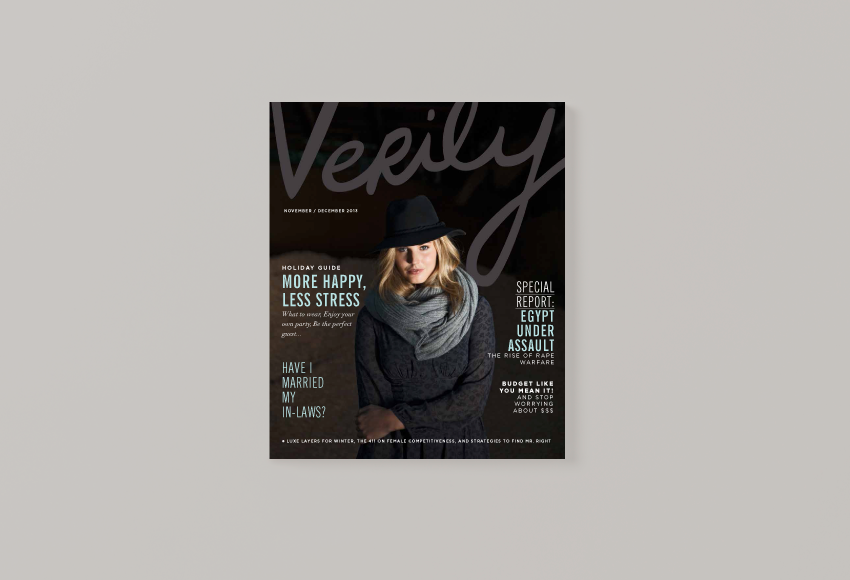 Verily Magazine | Art Direction by Jane Riley